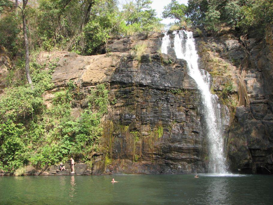 Benin lumiere cascade