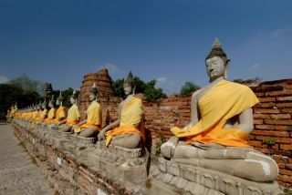 Bouddhas d'Ayutthaya