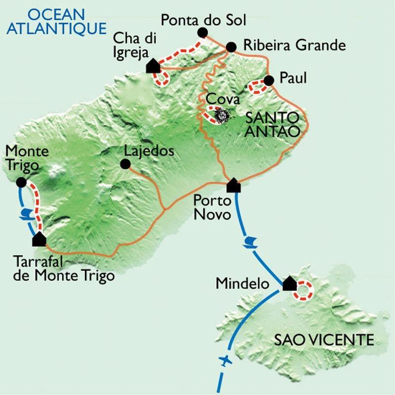 [KEY_MAP] - Cap Vert - Santo Antao en douceur