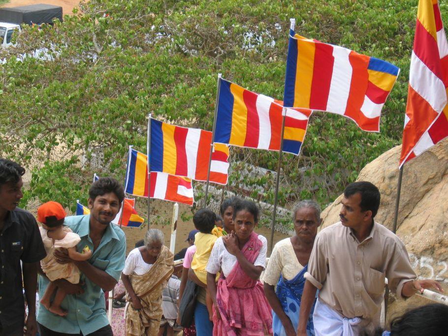 Cérémonie religieuse - Sri Lanka - ©Fabrice Oudin