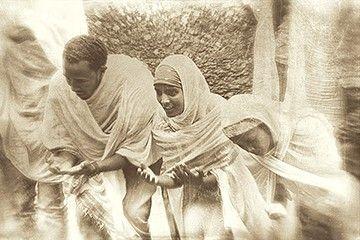 Ferveur religieuse - Lalibela - Éthiopie © Norbert Sayou