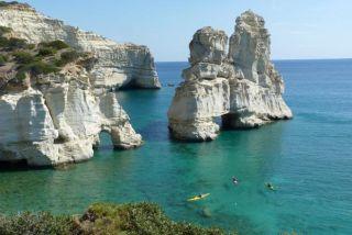 Grèce Kayak de mer et randonnée dans les Cyclades