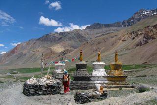 Inde Ladakh, trek dans le désert himalayen