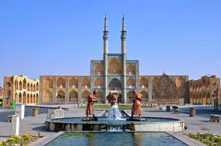 Iran Yazd complexe Amir © Droits réservés