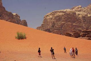 Jordanie le désert du Wadi Rum