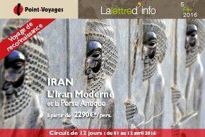 L\'Iran Moderne - Lettre d\'info