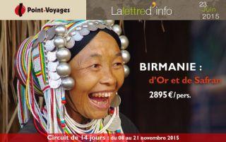 Lettre d\'info : Birmanie