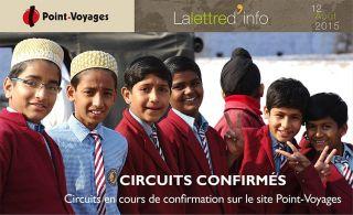 Lettre d\'info : circuits confirmés