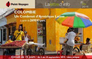 Lettre d\'info : Colombie