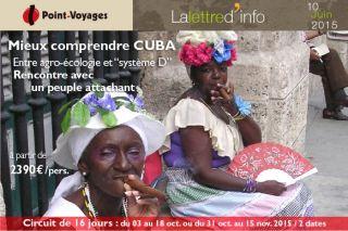 Lettre d\'info : Cuba