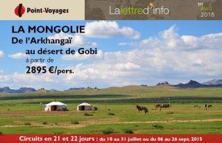 Lettre d\'info : Mongolie