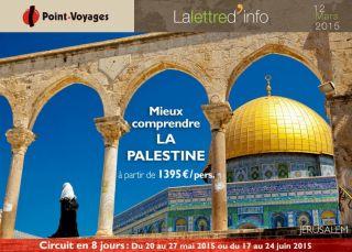 Lettre d\'info : Palestine