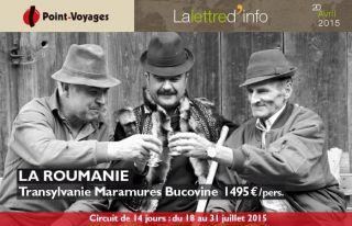 Lettre d\'info :  Roumanie