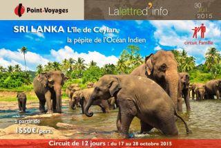 Lettre d\'info : Sri Lanka