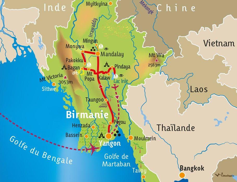 [KEY_MAP] - BIRMANIE  - Découverte Birmane