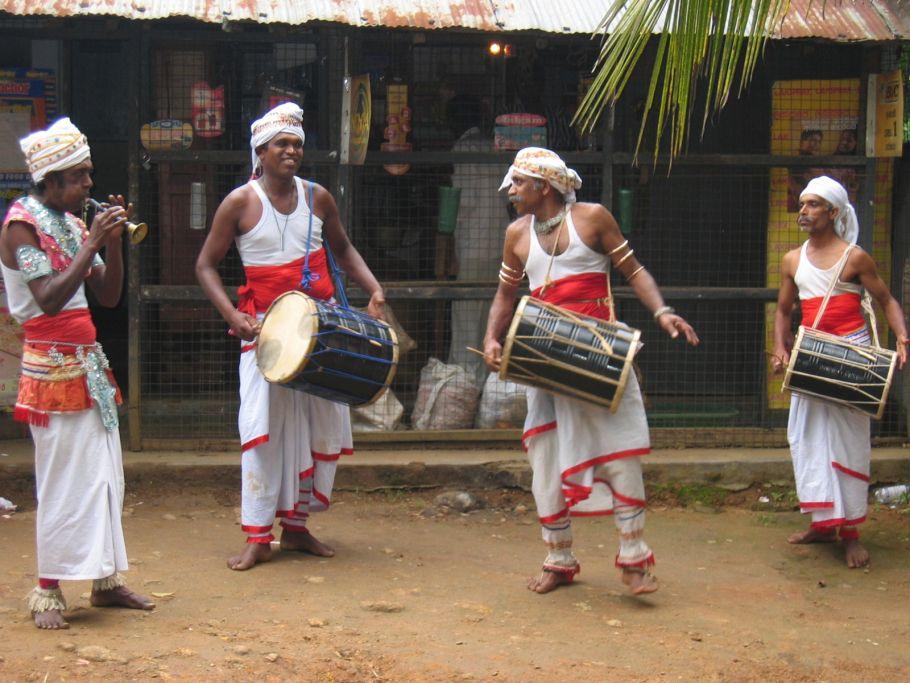 Musiciens traditionnels - Sri Lanka - ©Fabrice Oudin