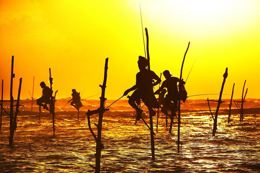 Pêcheurs traditionnels - Sri Lanka - ©Droits Réservés