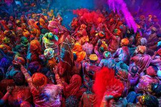 Rajasthan – fête de Holi © Poras Chaudhary