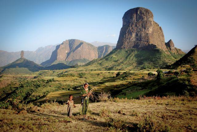 Voyager pour découvrir - Montagnes du Simiens - Ethiopie - © Céline RAVIER