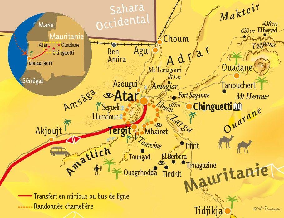 [KEY_MAP] - Mauritanie - L'intégrale des Oasis de l'Adrar