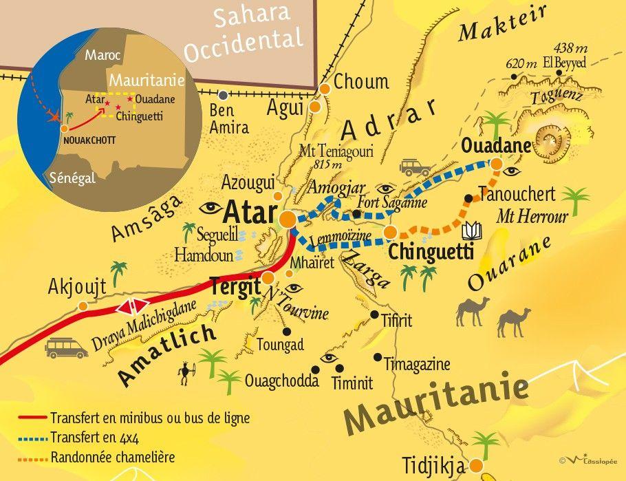 [KEY_MAP] - Mauritanie - La Tanouchertoise