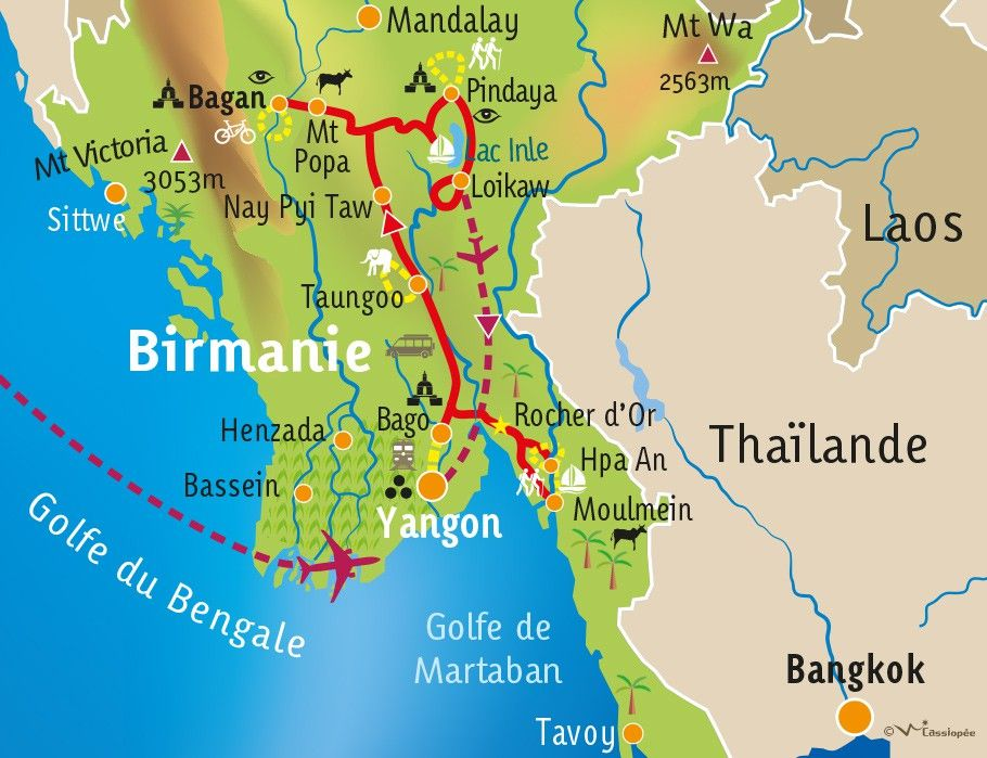 [KEY_MAP] - BIRMANIE  - Mieux comprendre la Birmanie