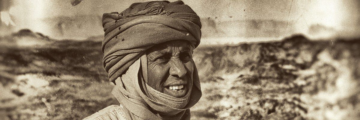Medhi - guide Toubou - Tchad © Norbert Sayou