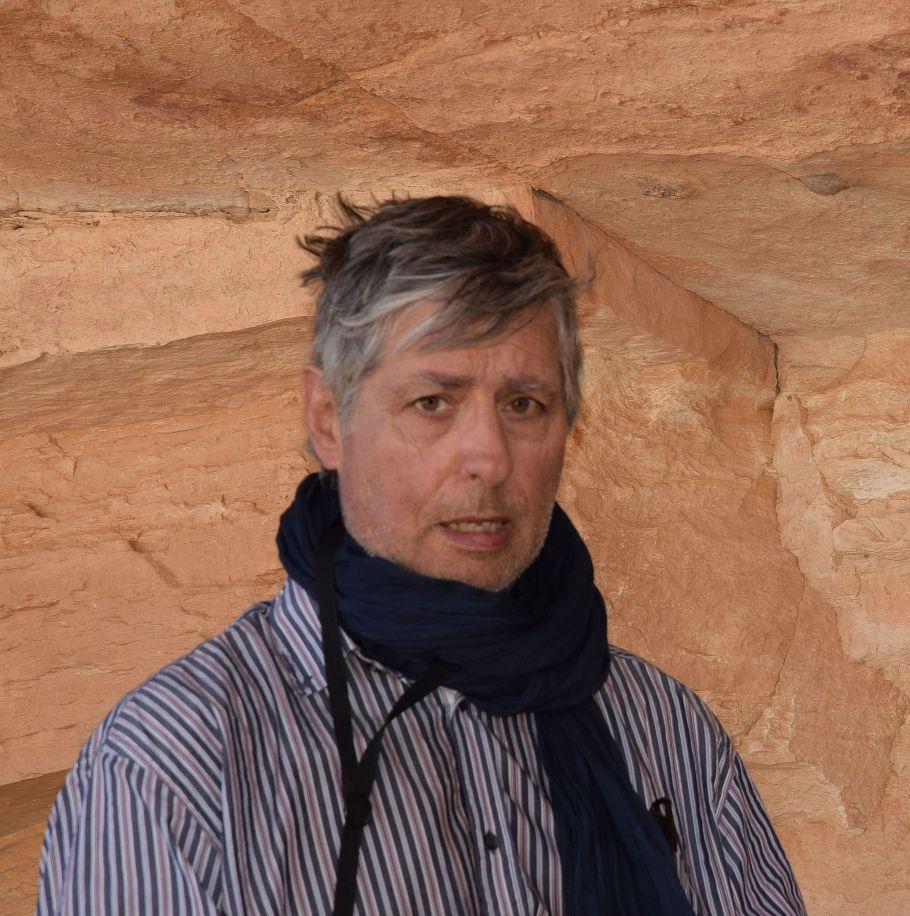 Autoportrait au Tchad © Yves Gauthier