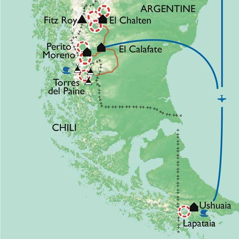 [KEY_MAP] - Argentine/Chili - Patagonie, aux confins de la terre