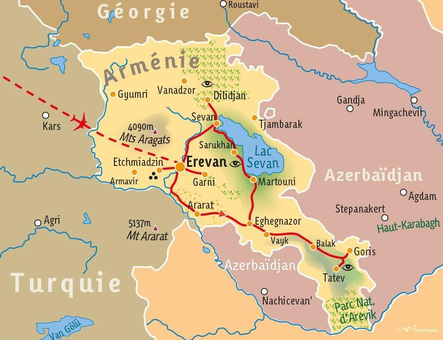 [KEY_MAP] - ARMENIE - Découverte de l'Arménie