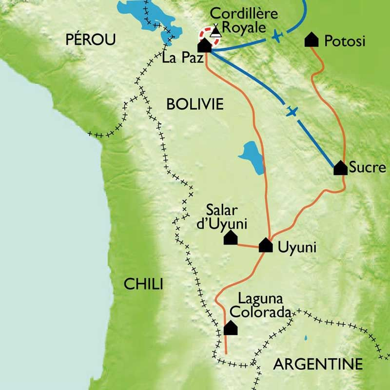 [KEY_MAP] - Bolivie - Salars et cordillère Royale