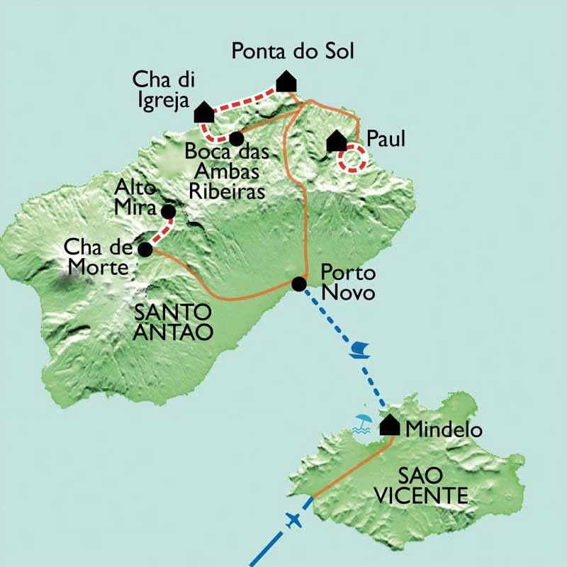 [KEY_MAP] - Cap Vert - Chasse aux trésors sur les îles de San Vicente et San Antao