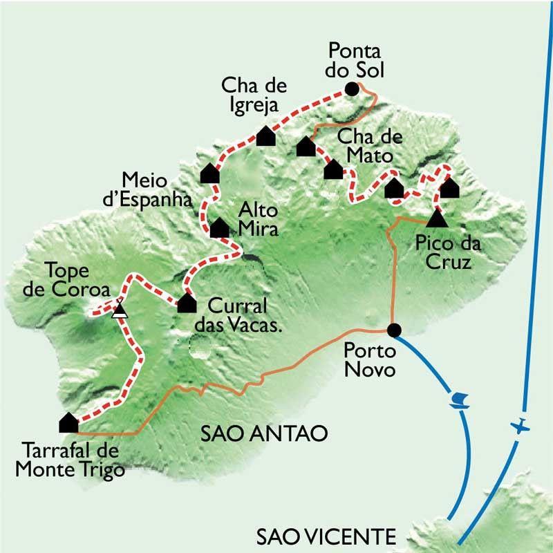 [KEY_MAP] - Cap Vert - La grande traversée de Santo Antao