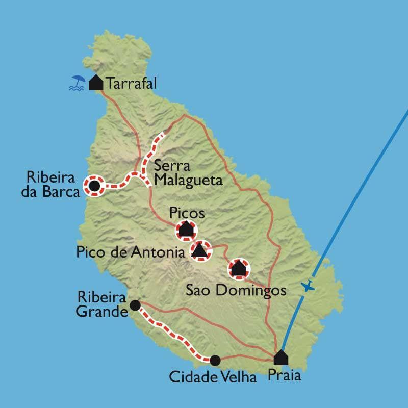 [KEY_MAP] - Cap Vert - Santiago l'inexplorée