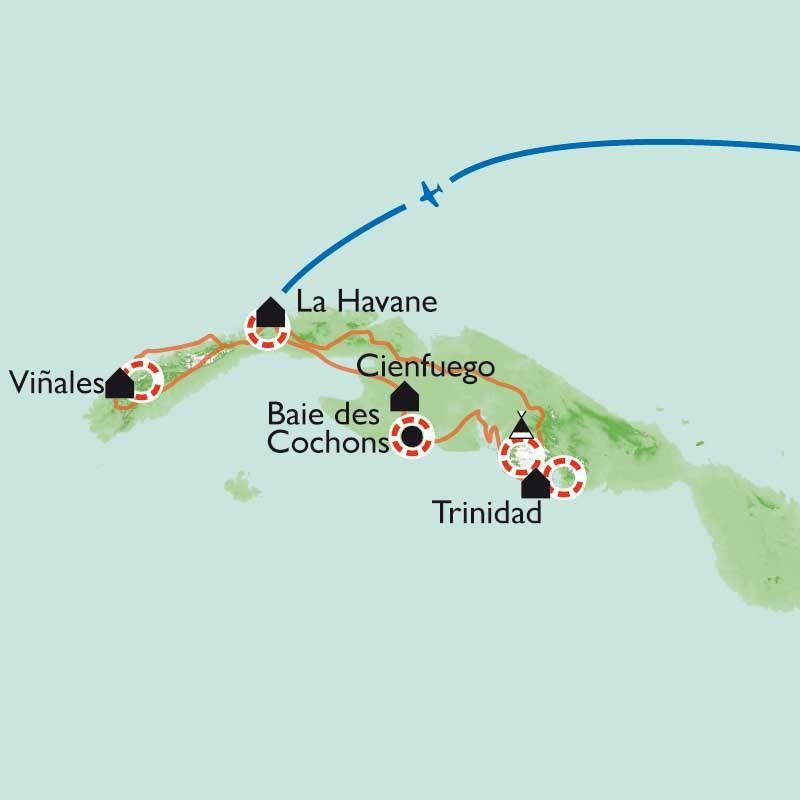 [KEY_MAP] - Cuba - La perle des Caraïbes