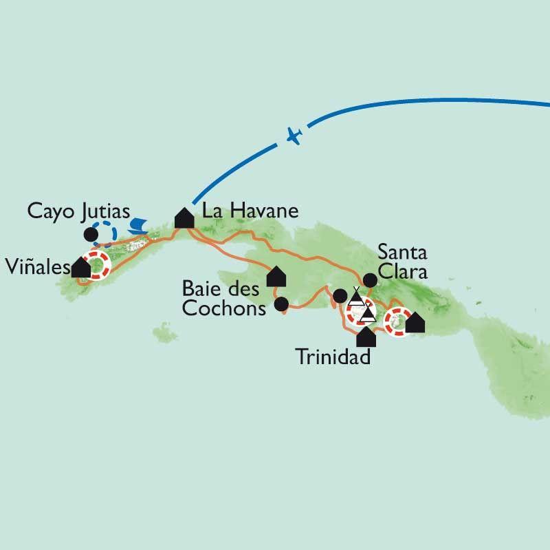 [KEY_MAP] - Cuba - Selva, Sierra et Salsa