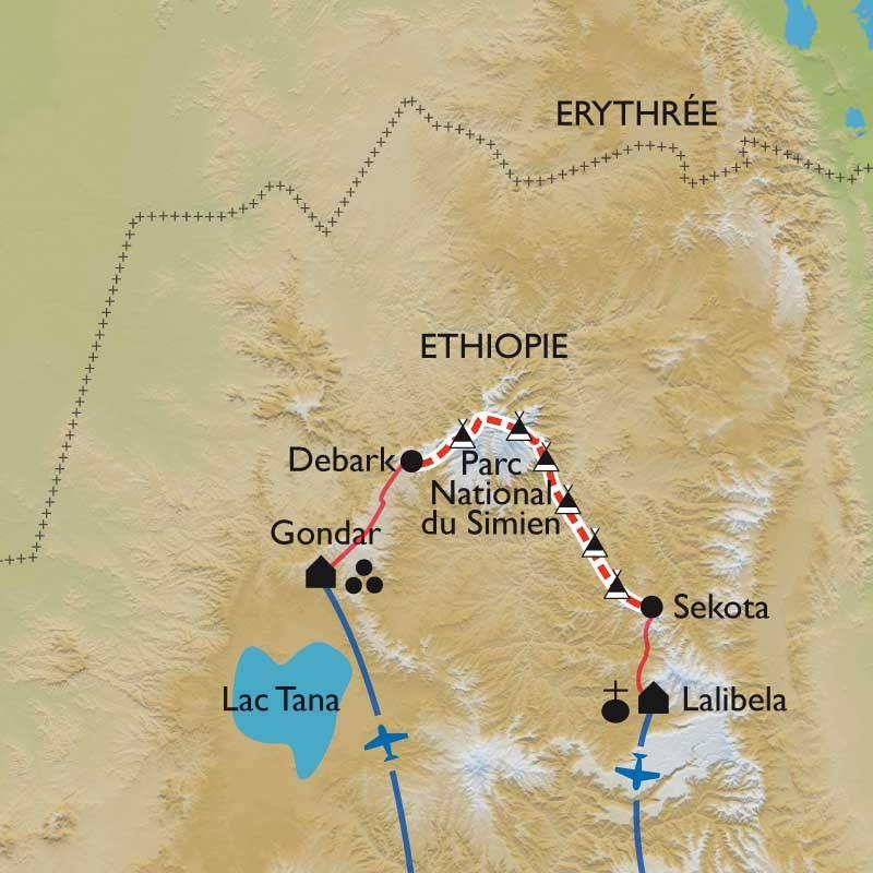 [KEY_MAP] - Ethiopie - La traversée des hauts plateaux éthiopiens