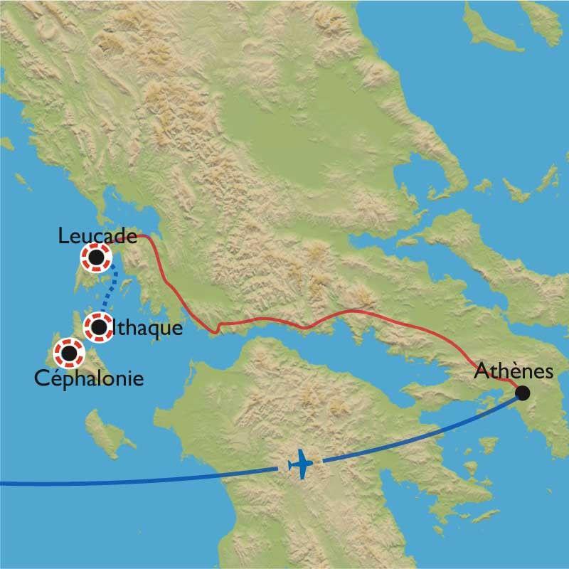 [KEY_MAP] - Grèce - Ioniennes : la patrie d'Ulysse