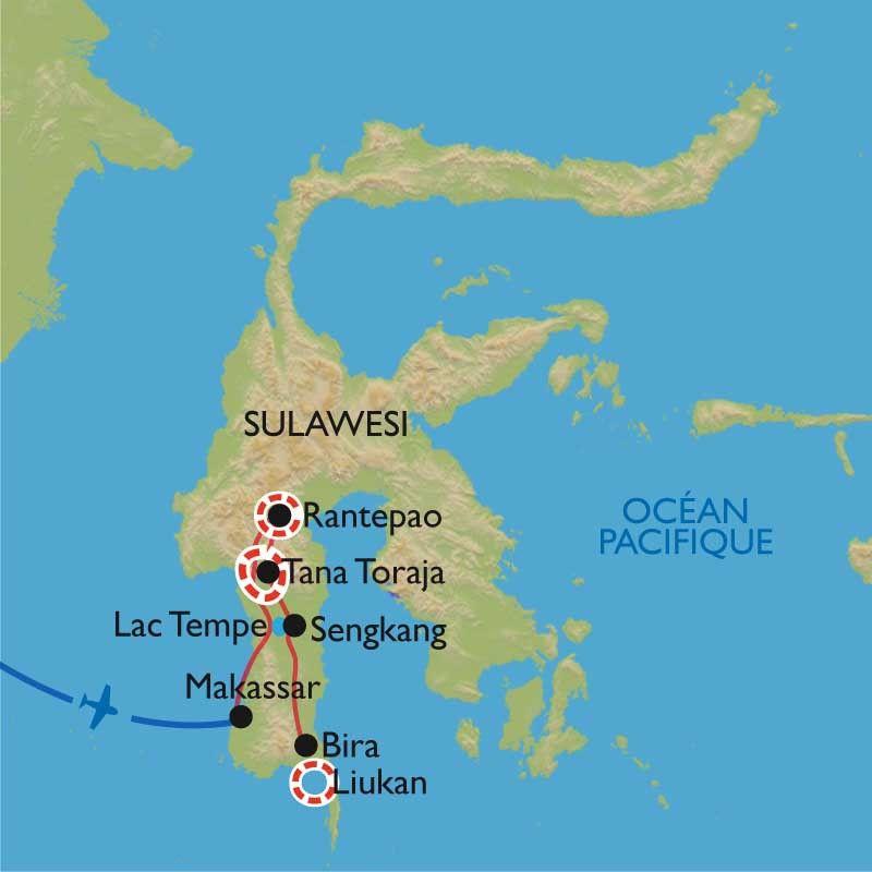 [KEY_MAP] - Indonésie - Sulawesi, à la rencontre des Toraja