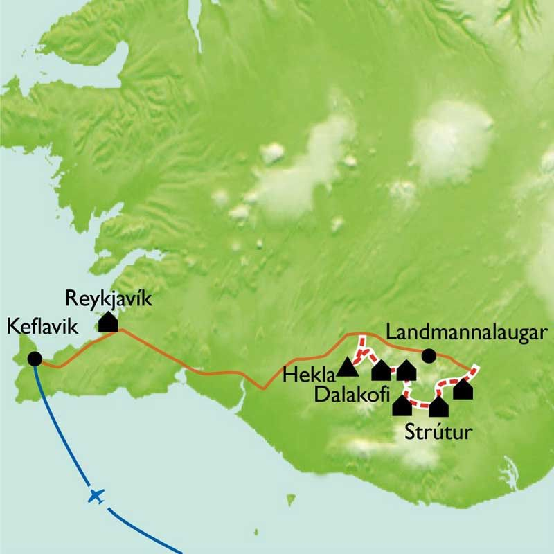 [KEY_MAP] - Islande - Trek par Nature