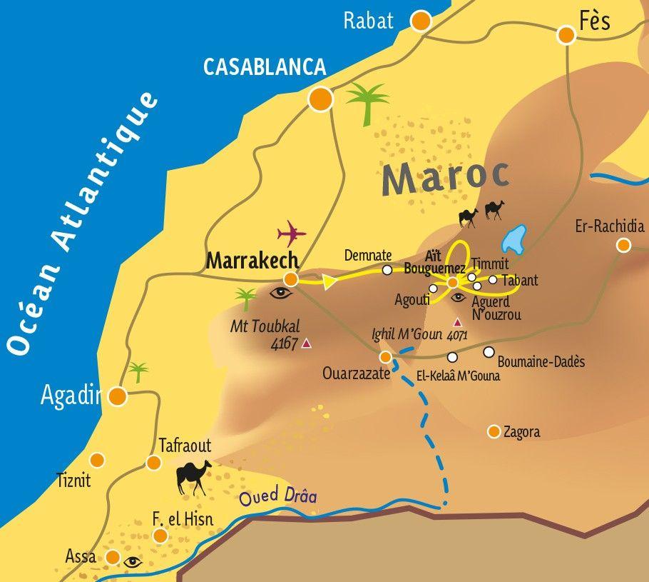 [KEY_MAP] - MAROC - Immersion berbère dans les Aït Bougmez
