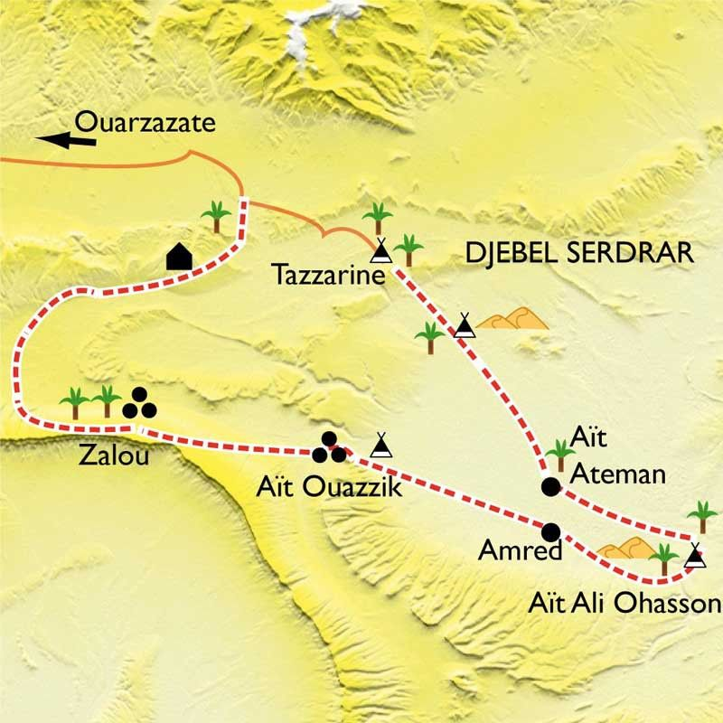 [KEY_MAP] - Maroc - La caravane de Tazzarine