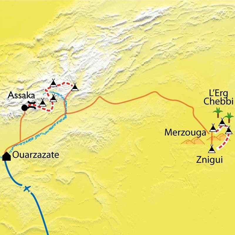 [KEY_MAP] - Maroc - La rose des sables