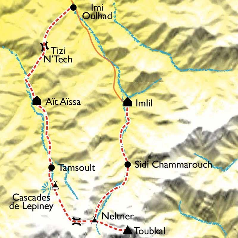 [KEY_MAP] - Maroc - Randonnée et ascension du Toubkal