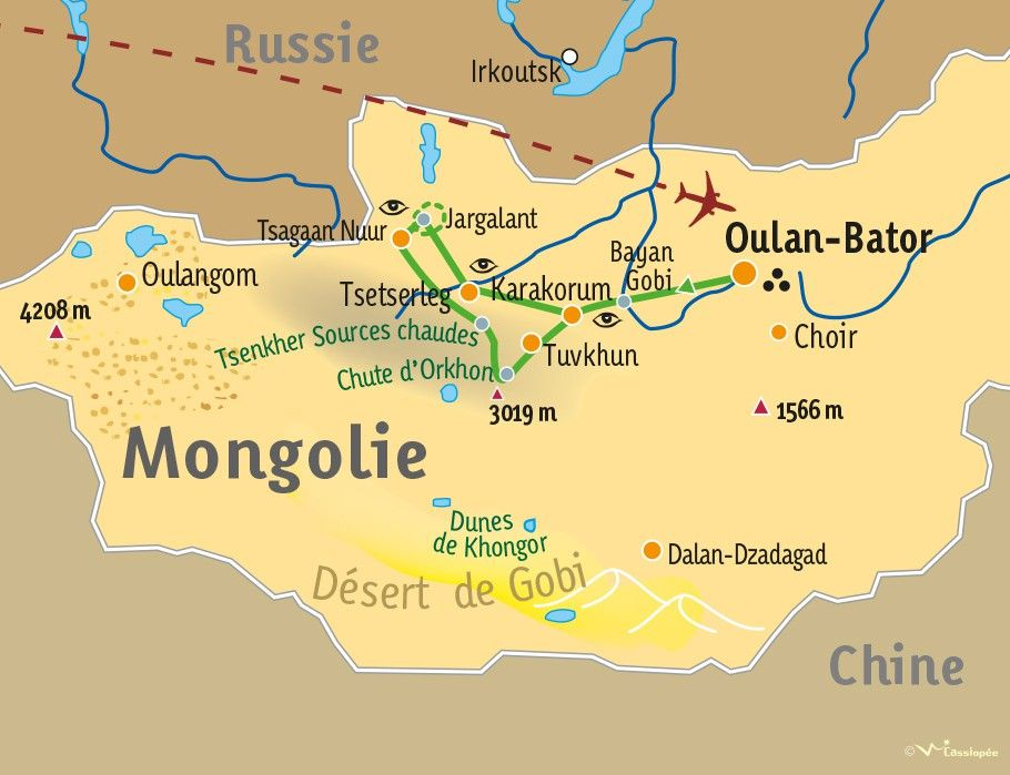 [KEY_MAP] - MONGOLIE  - Immersion nomade et randonnée mongole
