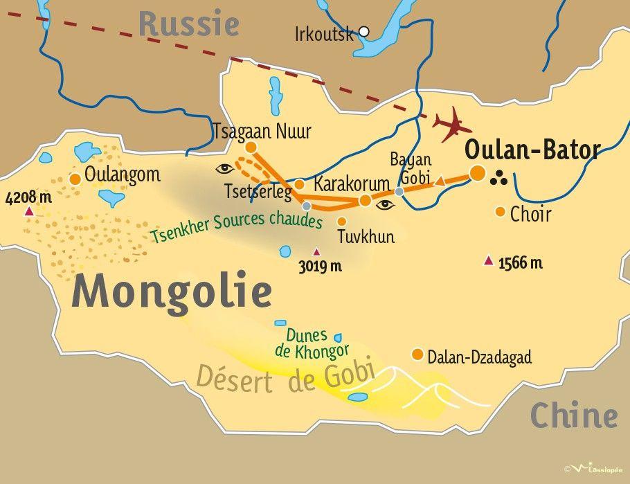 [KEY_MAP] - MONGOLIE - Trek dans l'Arkhangaï