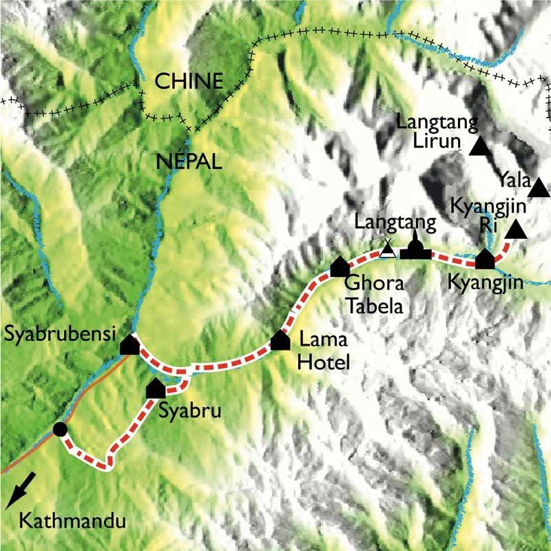[KEY_MAP] - Népal - Le Langtang, à la frontière du Tibet