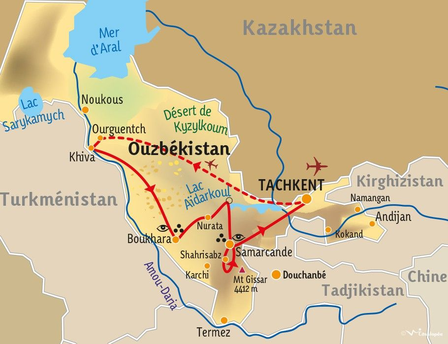 [KEY_MAP] - OUZBEKISTAN - Immersion ouzbek, entre culture et traditions