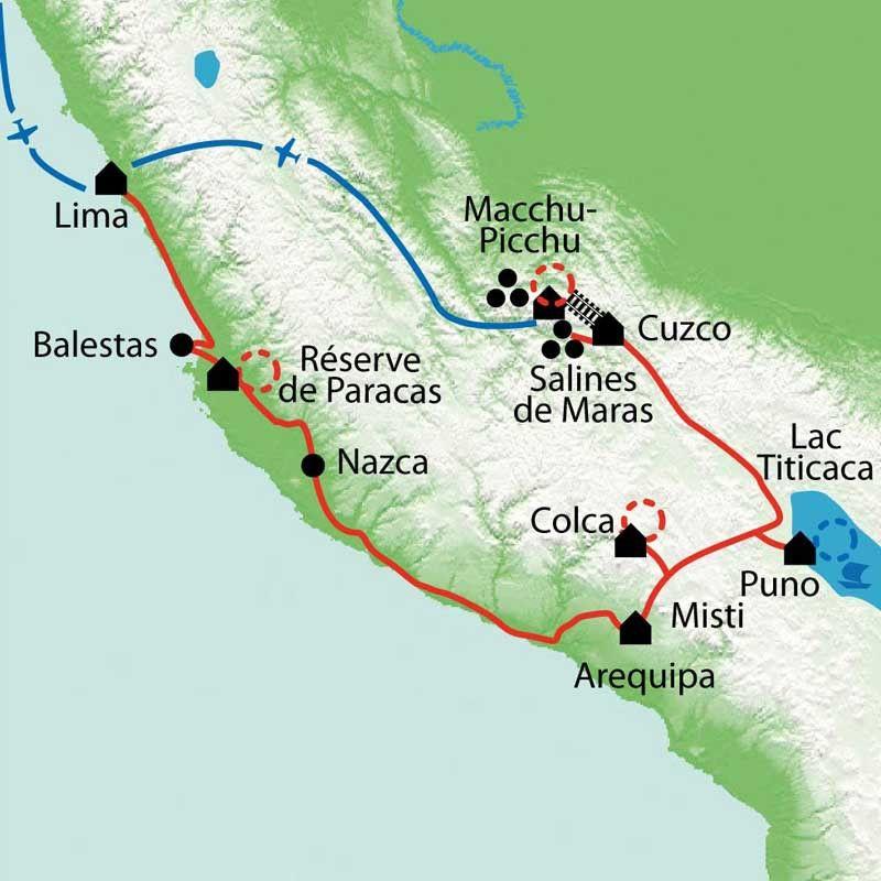 [KEY_MAP] - Pérou - Terres sacrées des incas
