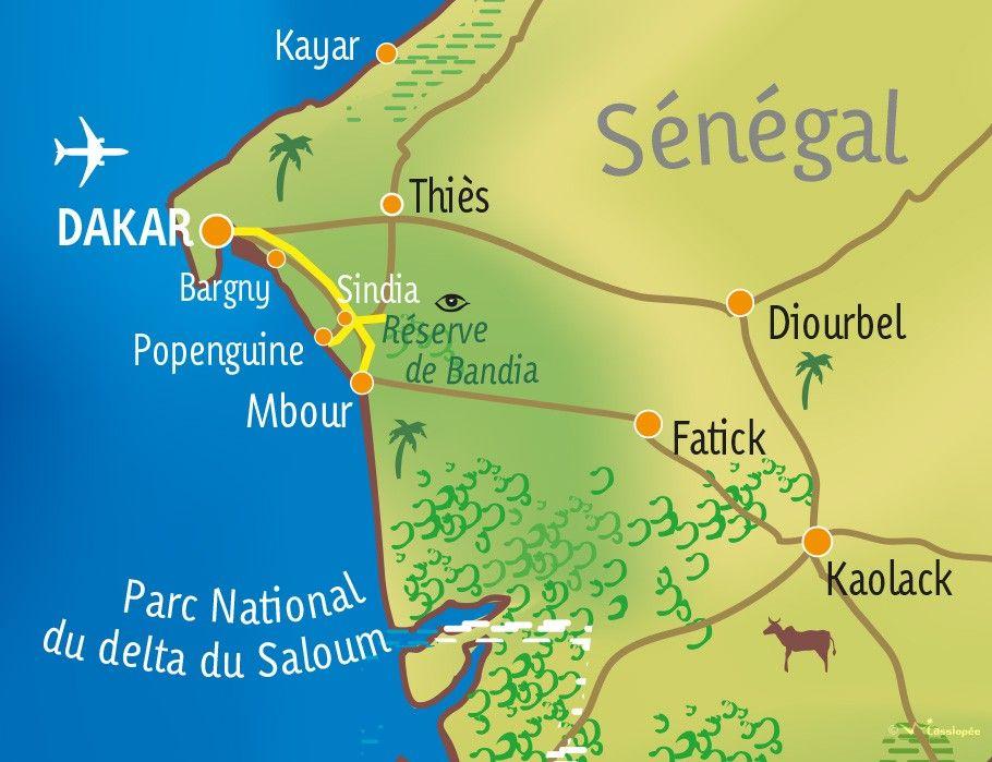 [KEY_MAP] - SENEGAL - Balade sénégalaise à mobylette